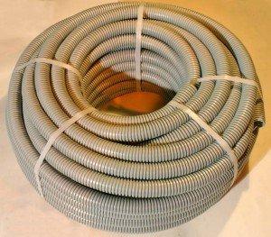 Фото гофры электропроводки из высококачественного пластика, magazin-stroy.ru
