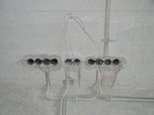 Фото прокладки электропроводки, kbtm.ru