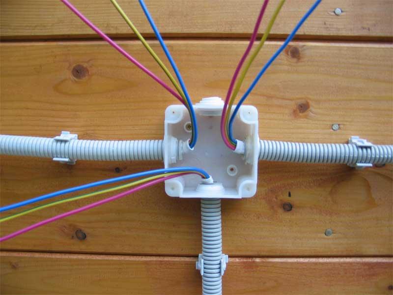 Электропроводка гаража своими руками фото
