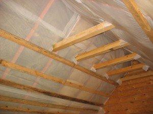 На фото - пароизоляция крыши, all-for-remont.ru