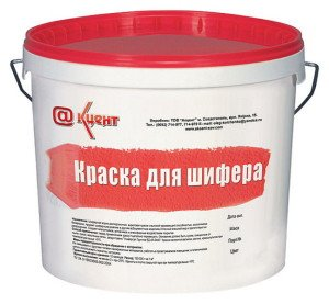 Фото краски для шифера, bau.ua