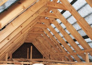 Фото двускатной крыши мансарды, montazhnik02.ru