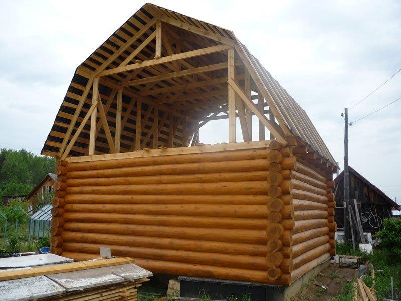 Ломаные крыши домов фото