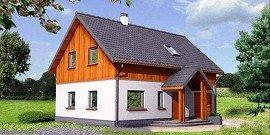 Двухскатная крыша с мансардой – экономия средств