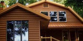 Монтаж металлического блок-хауса – что нужно знать о материале и установке?