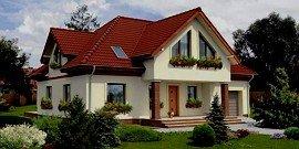 Одноэтажный дом с мансардой – планируем жилье для семьи