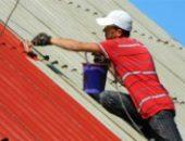 Фото - Покраска шифера, или как сделать крышу дома презентабельной