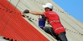 Покраска шифера, или как сделать крышу дома презентабельной