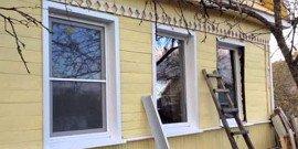 Уличные откосы на пластиковые окна – быстро и просто, в 4 шага!