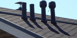 Фото - Вентиляция чердака над мансардой – боремся с конденсатом