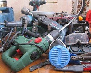 Фото инструментов для монтажа электропроводки, permelectric.ru