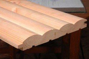 Фото блок-хауса из цельного массива дерева, dveri-fa.com.ua