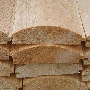 На фото - деревянный блок-хаус, medvedbissines.ru