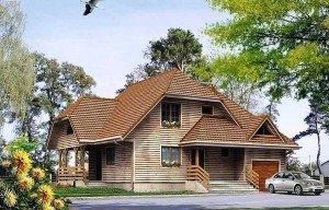 Каким должен быть одноэтажный дом с мансардой