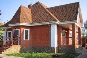 Каким должен быть одноэтажный дом с мансардой фото