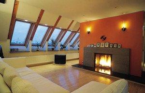 Грамотная планировка одноэтажного дома с мансардой фото