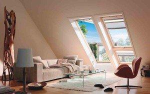 Окна на мансарде – ромбовидные, треугольные!