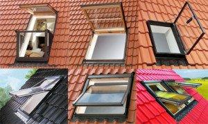 Окна на мансарде – ромбовидные, треугольные! фото