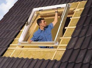 Окна в мансарде – варианты обустройства
