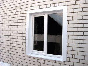 Фото внешних откосов окна из ячеистого пластика, moyalodzhiya.ru