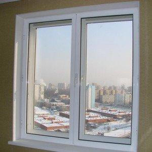 На фото - внутренние откосы пластикового окна, rudupis.ru