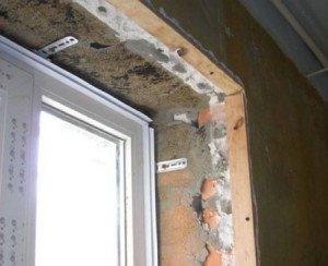 Фото деревянных реек для установки пластиковых откосов окна, streiderz.ru
