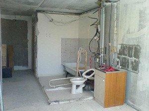 Фото электропроводки в ванной комнате, profidom.com.ua