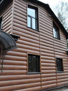 Фото пластикового блок-хауса, sidingspb.ru