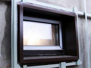 Фото металлических панелей для оконных откосов, jp-fasad.ru