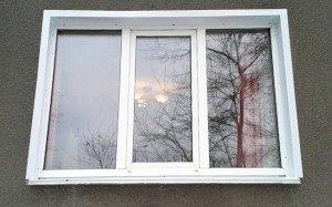 На фото - уличные откосы окна из металла, zolotonosha.all.biz