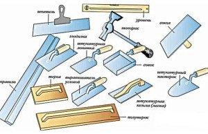 Фото инструментов для ремонта оконных откосов, ystroi.ru