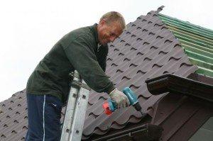 На фото - крыша из металлочерепицы, gennadiy.info