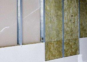 Фото каркаса для звукоизоляции гипсокартонных стен, kakpostroit.su