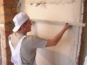 Зачем шпатлевать стены – выравниваем и экономим фото