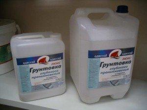 Фото грунтовочных смесей для потолка, e-shtukaturka.ru