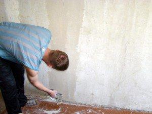Фото подготовки стен к поклейке обоев, apxangel.ru