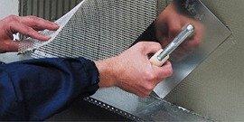 Сетка для шпаклевки – приводим стены в идеальное состояние