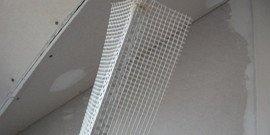 Шпаклевка углов гипсокартона – делаем идеально ровные и прочные углы