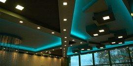 Точечные светильники для подвесных потолков – критерии выбора