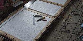 Как утеплить входную металлическую дверь, выбираем термоизоляцию