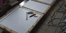 Фото - Как утеплить входную металлическую дверь, выбираем термоизоляцию