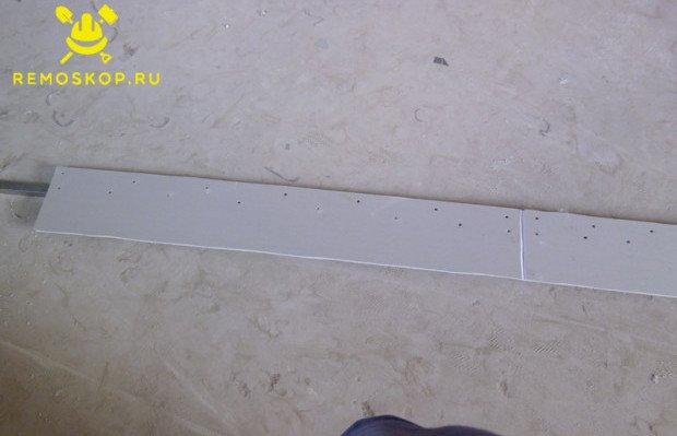 Сборка стенки ниши