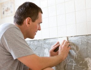 Фото облицовки стен керамической плиткой, kedr24.com
