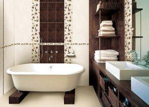 На фото - неповторимый дизайн ванны с керамической плиткой, cssfan.ru