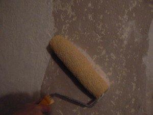 Подготовка стен с применением сетки для шпаклевки