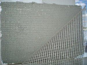 Подготовка стен с применением сетки для шпаклевки фото
