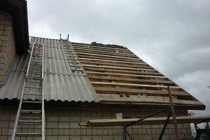 Фото крепления волнового шифера к обрешетке, gid-str.ru