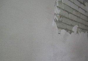 Фото стартового шпаклевания стен, strmnt.com