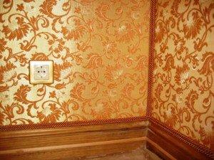 Фото виниловых обоев на тканевой основе, potoloksam.ru