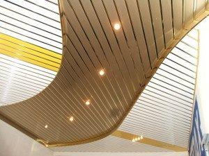 Фото встраиваемых светильников для реечного потолка, kitchenguide.ru